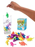 Water Growing Dinosaurs - 32 Pack - Expandable Animals Stocking Stuffers for Kids- Party Supplies Favors - Great Gift for Toddlers Children Boys and Girls | Fit as Easter Egg Fillers