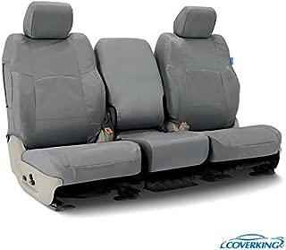 Coverking CSC1E4CH9657 Charcoal Custom Seat Cover ((1 Row) Cordura/Ballistic for Select 2015 to 2018 Chevrolet Truck Silverado 1500HD, 2500HD,3500 Models)