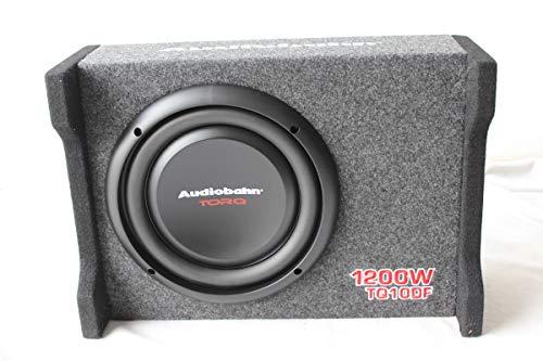 Audiobahn 10' 1200W Car Truck Shallow Slim Loaded Boom Bass box Audio...