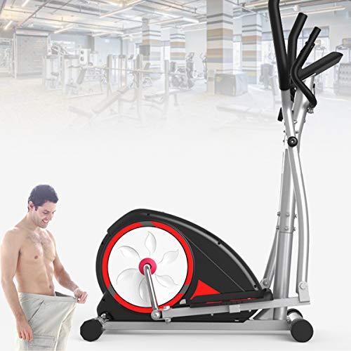 EnweTon 2 in 1 Exercise Bike Cardio Fitness Cross Trainer, Magnetic Elliptical Machine Cross Trainer...