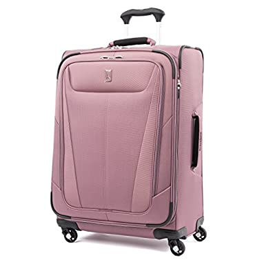 Travelpro Luggage Maxlite 5 25  Lightweight Expandable Spinner Suitcase, Dusty Rose