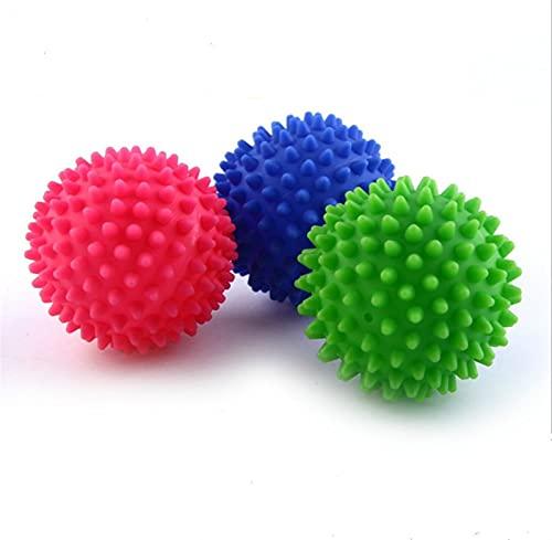 SHUJINGNCE PVC Wäscherei Ball wiederverwendbar Saubere Werkzeuge Wäscherei Waschen Trocknen Stoff Weichspüler Ball Trockenwäsche Produkte Zubehör Waschkugel (Color : 1PC)