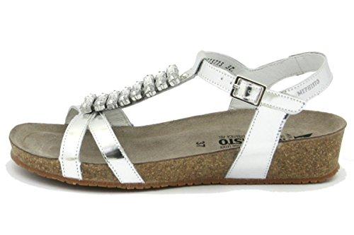 Mephisto Ibella Damen-Sandalen, Silber - silber - Größe: 36 EU
