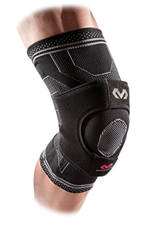 McDavid Knee Brace Compression Sleeve w/ Knee Wrap Support & Side Stays, Knee Stabilizer for Pain Relief, Injury Recovery & Prevention from Minor to Moderate Injuries, For Men & Women