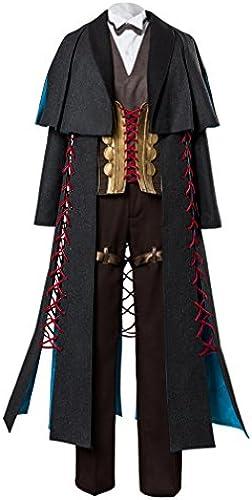 Fate Gründ Order Sherlock Holmes Outfit Cosplay Kostüm SchwarzMa fertigung