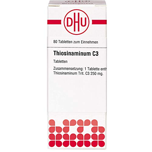 DHU Thiosinaminum C3 Tabletten, 80 St. Tabletten