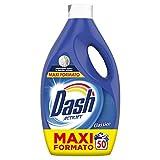 Dash Detersivo 50 lavaggi Detersivo Lavatrice Classico, Impeccabile contro le macchie lavaggio dopo lavaggio - 2.75L