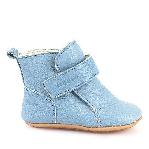 Froddo Baby Prewalkers Baby Winter-Stiefel - Light Blue hellblau - Woll-Futter - G1160001-1 (24 EU, Hellblau)