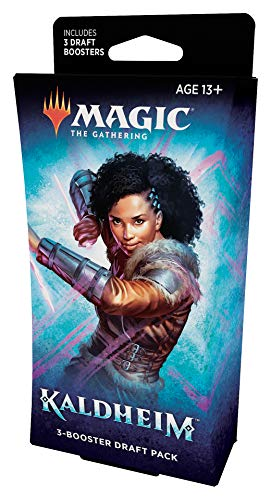 Magic: The Gathering Kaldheim Paquete de 3 Refuerzos, 45 Tarjetas mágicas