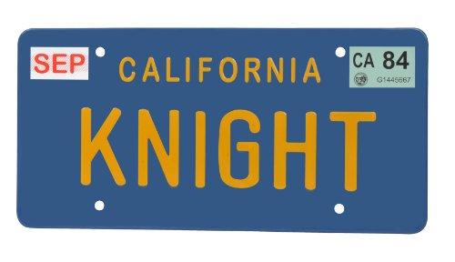 Diamond Select - Knight Rider (K 2000) réplique 1/1 plaque minéralogique KITT