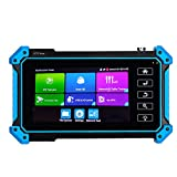 APROTII CCTV Camera Tester, 5 Inch IP Tester 4K Touch Screen H.265 IP