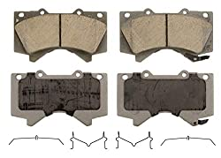 Brake pads for Toyota Tundra- Wager ThermoQuiet QC1303