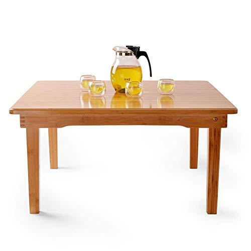 Einstellbare Folding Kleinen Tisch Couchtisch Quadratischen Tisch Balkon Buch Schreibtisch Hause multifunktions Tisch Kann gedreht Werden (Größe: 80 * 80 * 32 cm)