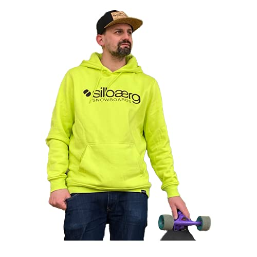 Hoody für Sport, Freizeit (Home-) Office silbaerg (Frozen Yellow, m)
