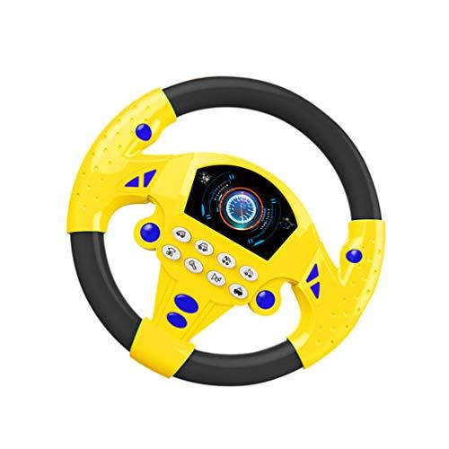 TOYANDONA Bebé Volante Juguete Simulación Conducción Juego de Simulación Juguete Niños Educación Temprana Juguete para Niños