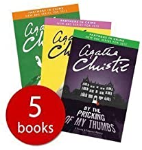 BBC Series Partners in Crime Tommy & Tuppence 5 Books Set Collection
