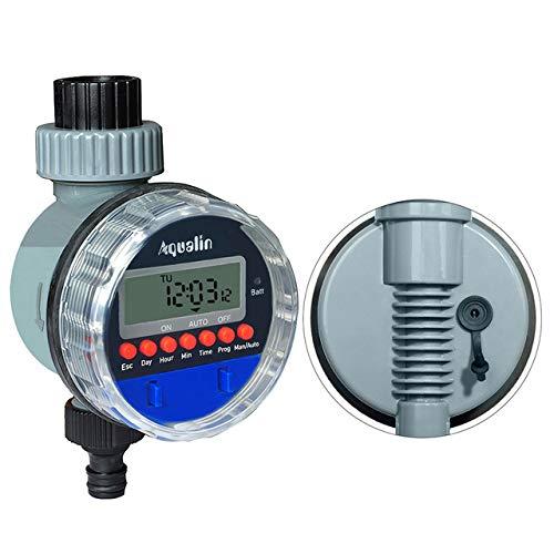 AFFC, automatische elektronische kogelkraan, waterdichte tuin-irrigatie, timer, bewateringsbesturing, met LCD-display