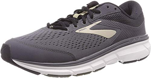 Brooks Dyad 10, Zapatillas de Running para Hombre, Gris (Grey/Black/Tan 082), 45 EU