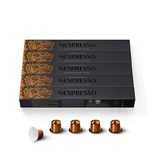 Nespresso Espresso Livanto,5er Pack 5 x 10 Kapseln