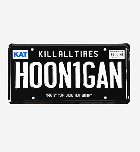Hoonigan Kennzeichen, sortiert
