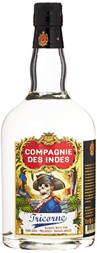 COMPAGNIE DES INDES Des Indes Tricorne Rum (1 x 0.7 l), 1272