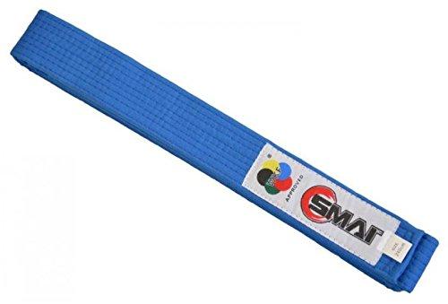 S.B.J - Sportland SMAI WKF Wettkampfgürtel blau, 260cm
