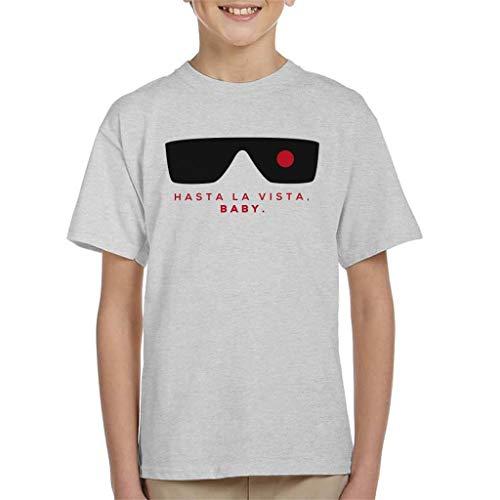 Kids Hasta La Vista Terminator Shades T-shirt