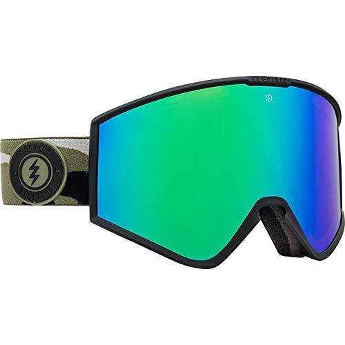 Electric Kleveland - Gafas de sol (cromo), diseño de camuflaje, color verde