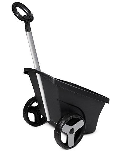 Ondis24 Transportkarre Zweirad Schubkarre Kunststoff Gartenkarre Trolley Carrellino 67 Liter - 2