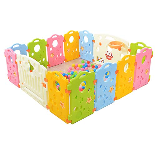 Best Review Of Baby Fence Toddler Crawl Mat Carpet Indoor Playground Protective Playpen