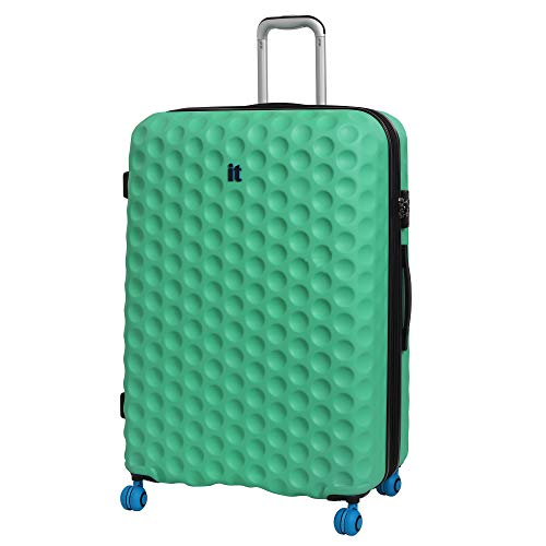 it luggage Bubble-Spin 4 Wheel Hard Shell Single Expander Large With Tsa Lock Suitcase, 79 cm, 159 L, Biscay Green