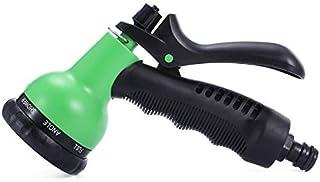 SHENYI Home and Jardin Joli Jardinage 7-Motif Revolver pulvérisation de buse d'arrosage Vert Multifonctionnel Spinkle Beau...