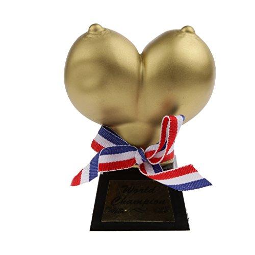 Trophée Seins Femmes Prop Drôle Accessoire Enterrement de Vie