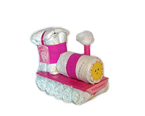 Luier taart - Mini - luier dressoir - luiertrekking - luierok - roze