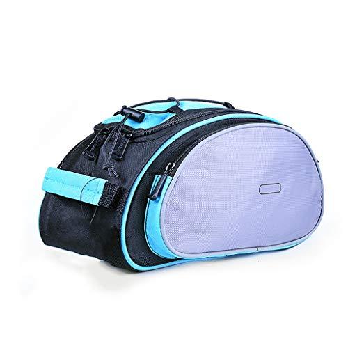 XY&CF Hintere Fahrradtasche, Fahrradgepäckträger-Tasche-Wasserdichtes Fahrrad-Trunk, Profi-Fahrrad-Reitzubehör (Color : A)