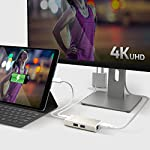 j5create USB C Hub Multi-Adapter Docking Station with HDMI 4K, 2X USB 3.1 SuperSpeed Ports, Ethernet, Power Delivery 2.0 14 The perfect accessory for your MacBook, Chromebook or other laptop with a USB Type-C port. It lets you easily backwards connect your USB Type-C computer to USB 3.0, USB 2.0, HDMI and RJ-45 devices. USB 3.0 SuperSpeed Ports: 2 USB 3.0 SuperSpeed ports, backwards compatible with USB 2.0 and USB 1.1 devices。 Note: Currently not compatible with macOS 11 Big Sur. To avoid any loss of functionality, we strongly advise all Mac users to delay updating to MacOS Big Sur 11 for the time being Get extra connectivity from your computer with 5Gbps fast transfer speeds. Add an additional USB computer peripheral, HDMI Monitor or Gigabit LAN through your USB Type-C port. (note: LAN usage requires download of a free driver)Bullet Point