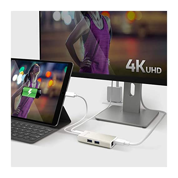 j5create USB C Hub Multi-Adapter Docking Station with HDMI 4K, 2X USB 3.1 SuperSpeed Ports, Ethernet, Power Delivery 2.0 6 The perfect accessory for your MacBook, Chromebook or other laptop with a USB Type-C port. It lets you easily backwards connect your USB Type-C computer to USB 3.0, USB 2.0, HDMI and RJ-45 devices. USB 3.0 SuperSpeed Ports: 2 USB 3.0 SuperSpeed ports, backwards compatible with USB 2.0 and USB 1.1 devices。 Note: Currently not compatible with macOS 11 Big Sur. To avoid any loss of functionality, we strongly advise all Mac users to delay updating to MacOS Big Sur 11 for the time being Get extra connectivity from your computer with 5Gbps fast transfer speeds. Add an additional USB computer peripheral, HDMI Monitor or Gigabit LAN through your USB Type-C port. (note: LAN usage requires download of a free driver)Bullet Point