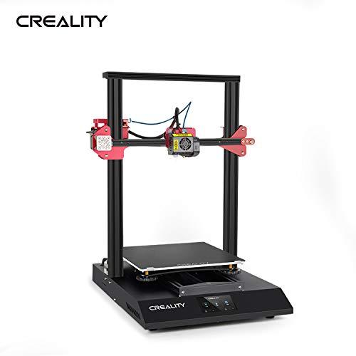 Extaum Impresora 3D Creality,CREALITY CR-10S Pro V2 Impresora 3D mejorada Kit de bricolaje tamaño de impresión grande con pantalla táctil digital a todo color y filamento de tarjeta TF PLA