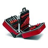 """KNIPEX Maleta de herramientas """"BIG Twin Move RED"""" Competencia Eléctrica 98 99 15"""