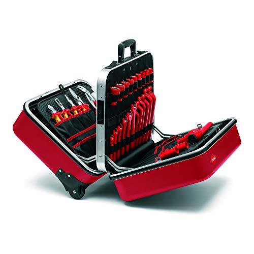 KNIPEX Maleta de herramientas 'BIG Twin Move RED' Competencia Eléctrica 98 99 15