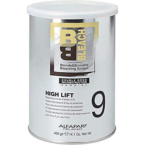 ALFAPARF BB BLEACH High Lift 9 Poudre décolorante, lot de 1 (1 x 400 g)
