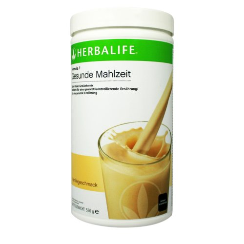 HERBALIFE AUSTRIA Formula 1 - gesunde Mahlzeit; Nähr Shake Getränkemix, 550 gr; verschiedene Geschmacksrichtungen; nur für Österreich (Vanille)