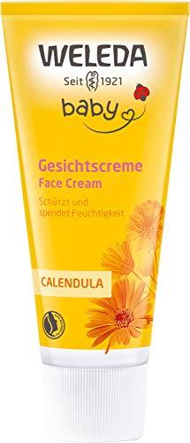 WELEDA Calendula Gesichtscreme, Naturkosmetik Feuchtigkeitscreme zur Pflege von trockener und...