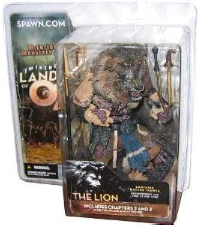 mejor reputación Twisted Land of Oz Lion Figura Dark Skin Tone Version Version Version McFarlane Monsters Series 2  tienda en linea
