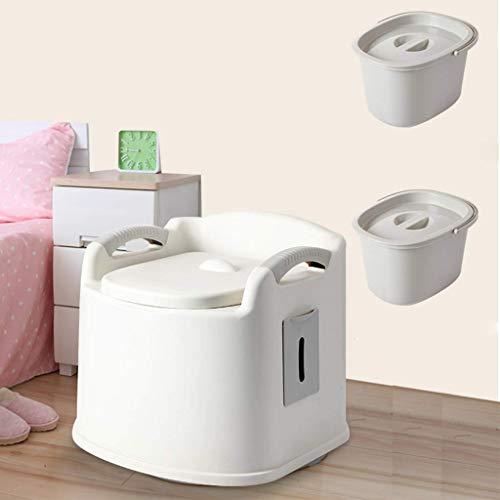Mobile Toiletten Für Erwachsene Leicht Haushaltstoilettenstuhl Mit Erwachsenem Gewebe-Kasten-Bad Sicherheit Töpfchen Camping