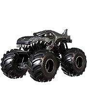 Hot Wheels Monster Trucks Coche de juguete escala 1,24 Mega Wrex (Mattel GCX18)