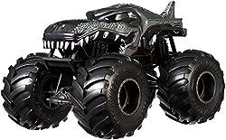 3. Hot Wheels 1:24 Scale Monster Trucks Mega-wrex Black