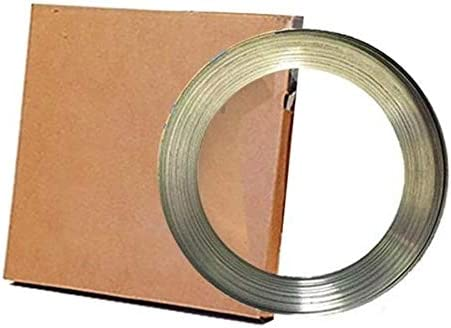 Pier Telecom 304 Stainless Steel Band 3 4 X 0 020 100 Coil for Banding and Strapping Applications product image