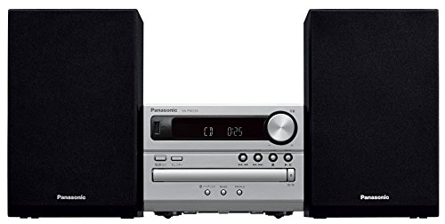 Panasonic CD Stereo System USB Memory / Bluetooth Correspondence Silver SC-PM250-S