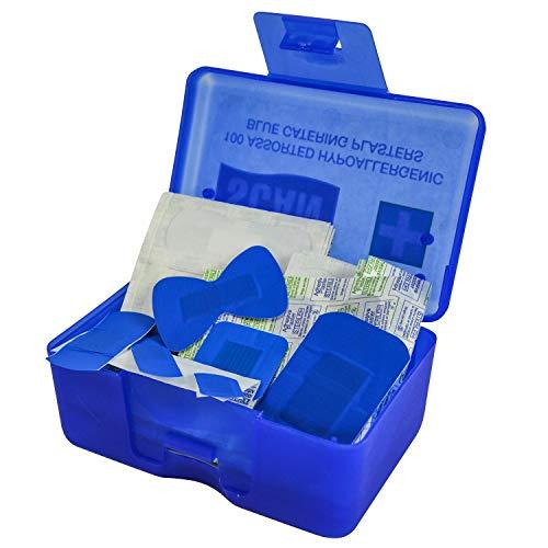 Scan FAPLACAT Hydroskopisches Pflaster-Sortiment, Blau, 100Stück
